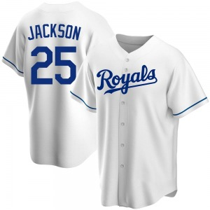 Youth Kansas City Royals Danny Jackson White Home Jersey - Replica